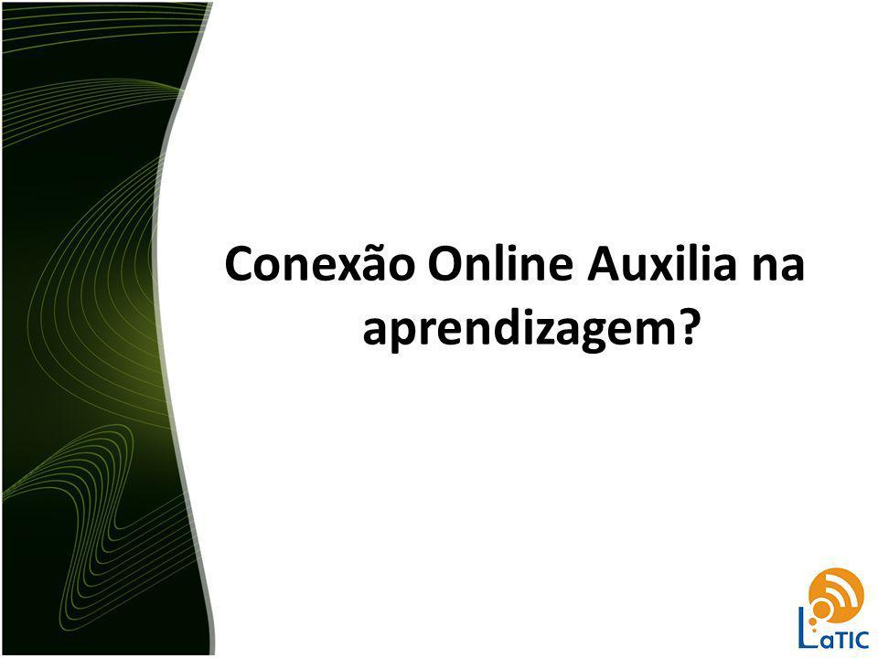 Conexão Online Auxilia na aprendizagem?