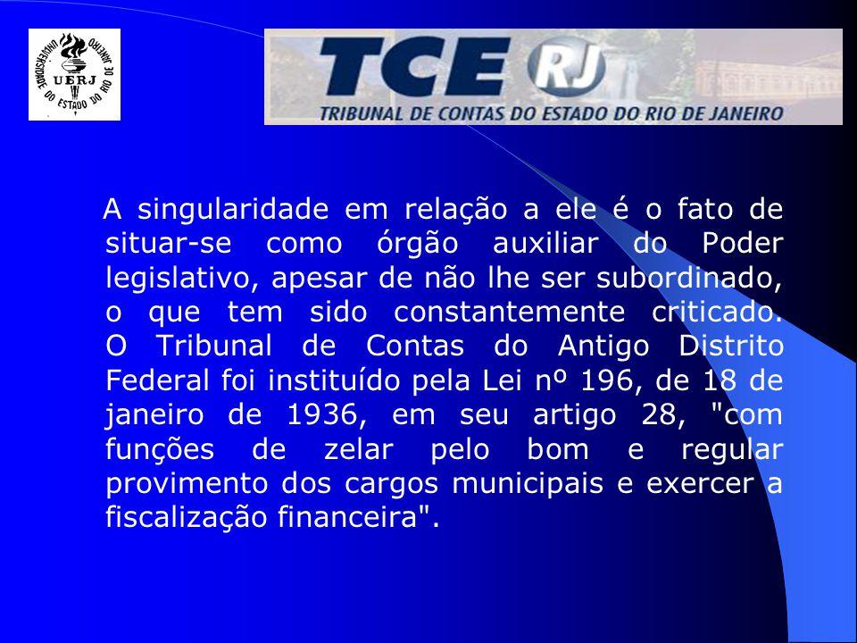 O TCE é composto por : Corpo Deliberativo (Conselheiros) Corpo Instrutivo (Secretarias Gerais)