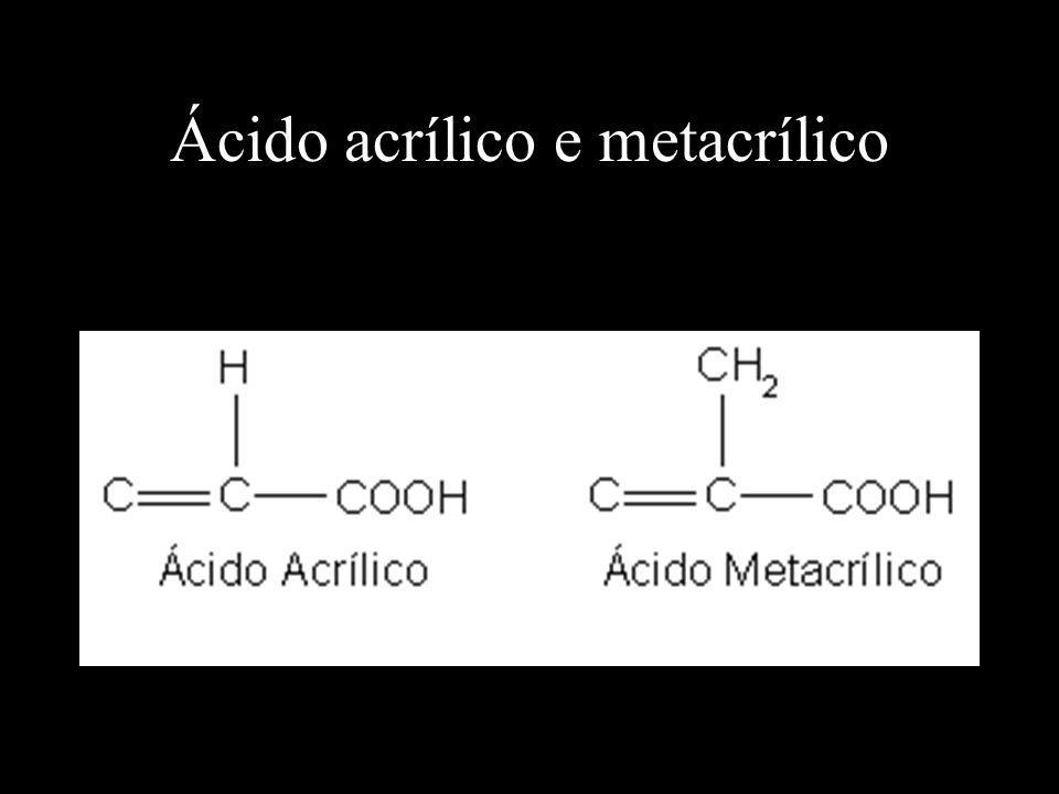 Ácido acrílico e metacrílico