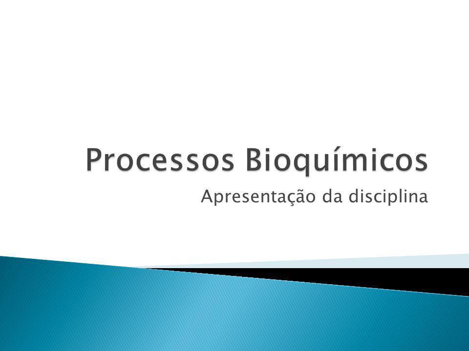 Terças – T6 N1 N2 N3 Quintas – T6 N1 Aulas de laboratório – às terças, de acordo com o cronograma Tolerância de 15 minutos Reposição somente com atestado médico Obrigatório: calça, sapato fechado e jaleco 2 Processos Bioquímicos - Prof.