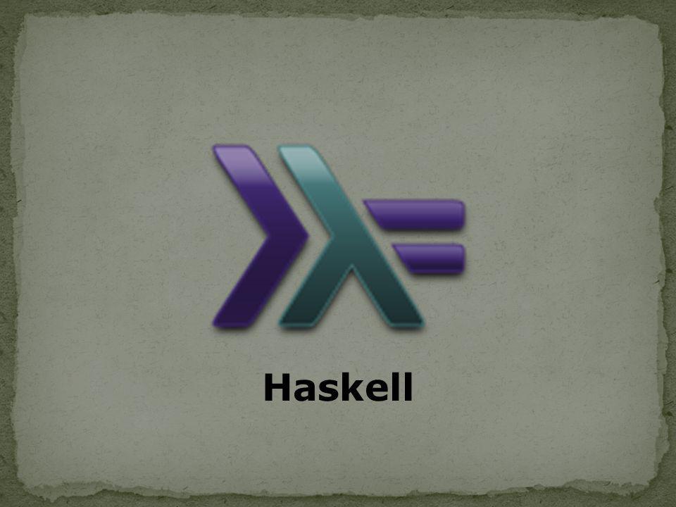 www.haskell.org www.haskell.edu/haskell www.haskell.org/haskell-history.html http://pt.wikipedia.org/wiki/Haskell_(linguagem_de_p rogramação) http://pt.wikipedia.org/wiki/Haskell_(linguagem_de_p rogramação) http://www.haskell.org/haskellwiki/Learn_Haskell_in_ 10_minutes http://www.haskell.org/haskellwiki/Learn_Haskell_in_ 10_minutes http://hackage.haskell.org/platform/ http://www.haskell.org/ghc/download_ghc_6_12_1.ht ml http://www.haskell.org/ghc/download_ghc_6_12_1.ht ml http://www.macs.hw.ac.uk/~dubois/ProgramacaoHas kell.pdf http://www.macs.hw.ac.uk/~dubois/ProgramacaoHas kell.pdf