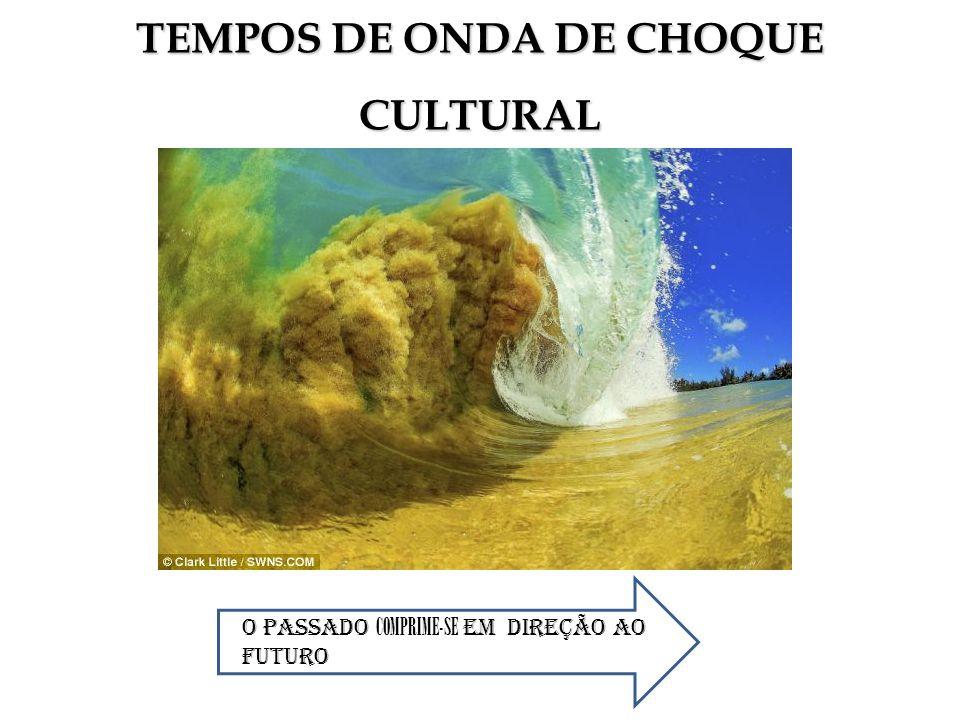TEMPOS DE ONDA DE CHOQUE CULTURAL O PASSADO COMPRIME-SE EM DIReÇÃO AO FUTURO
