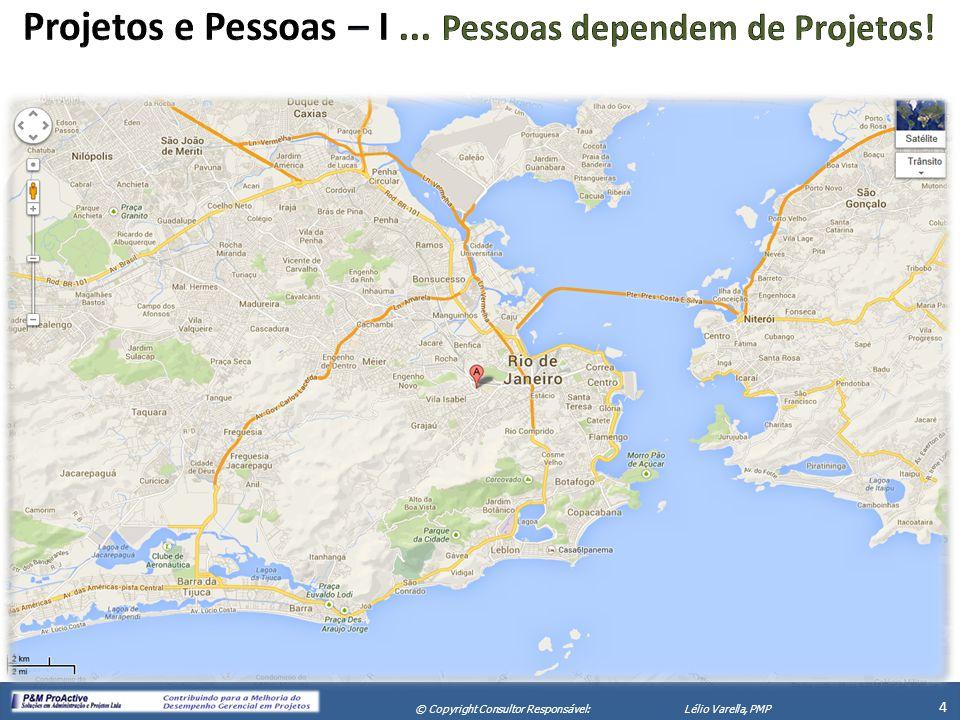 X Seminário de Gerenciamento de Projetos 5 © Copyright Consultor Responsável:Lélio Varella, PMP 5