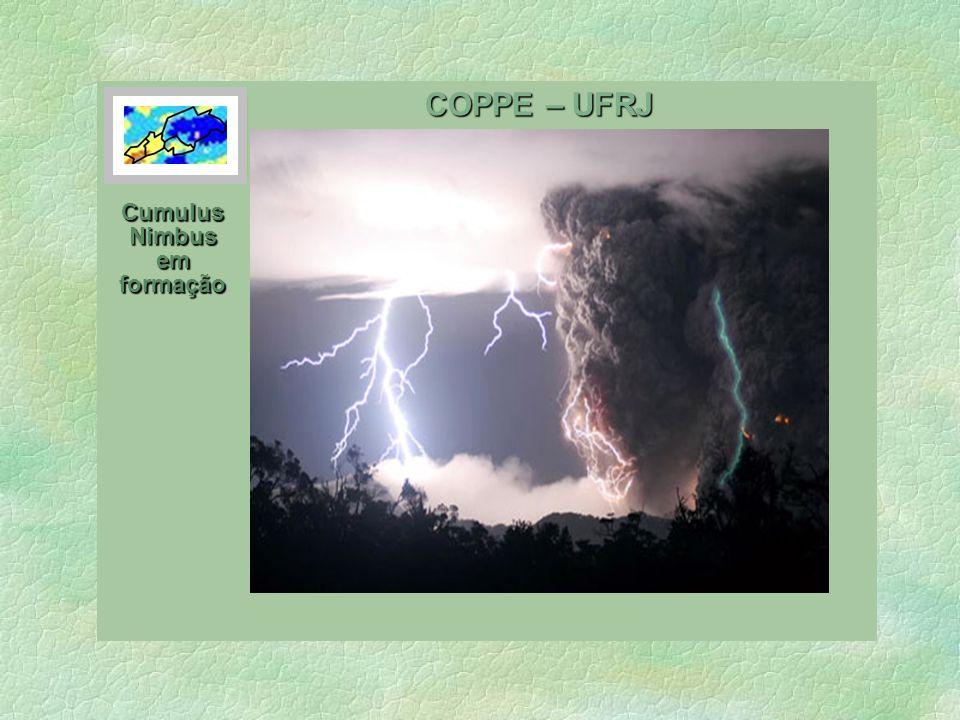 COPPE – UFRJ Cumulus Nimbus em formação