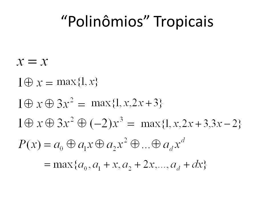 Polinômios Tropicais