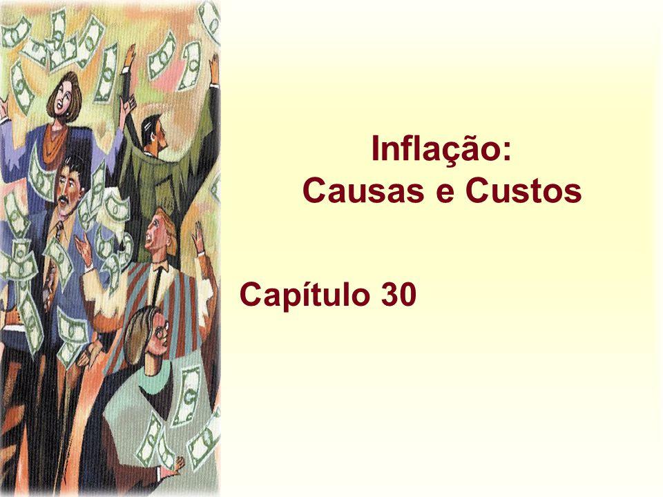 Inflação: Causas e Custos Capítulo 30