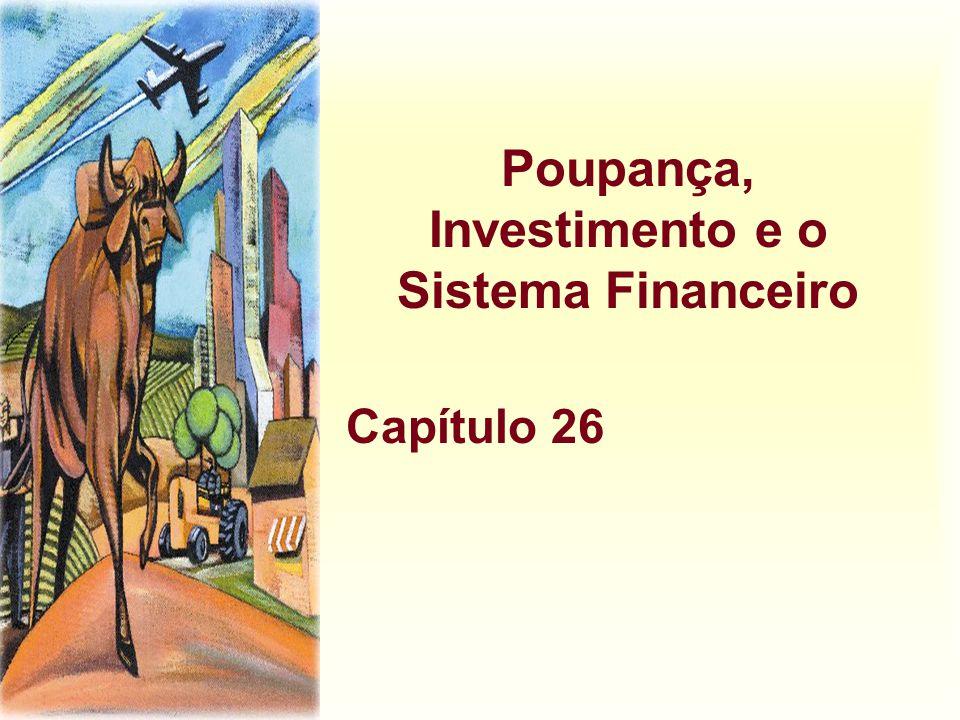 Poupança, Investimento e o Sistema Financeiro Capítulo 26