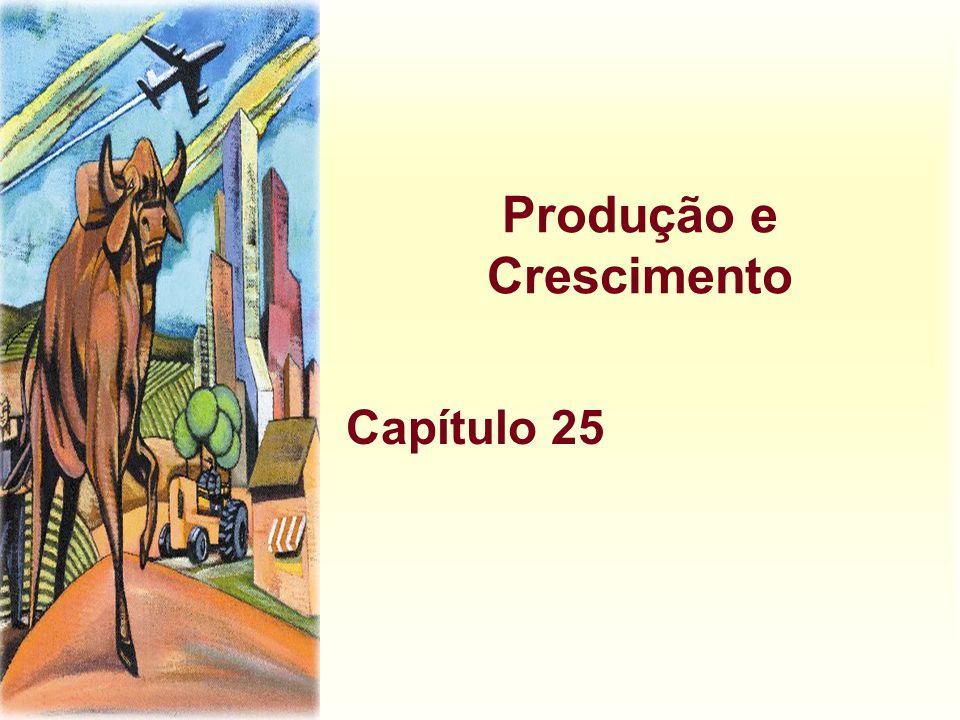 Produção e Crescimento Capítulo 25