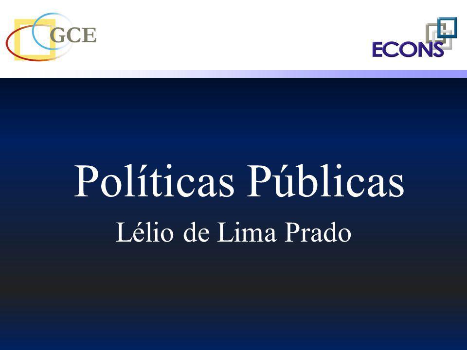 Políticas Públicas Lélio de Lima Prado