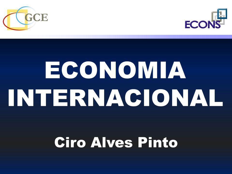 ECONOMIA INTERNACIONAL Ciro Alves Pinto