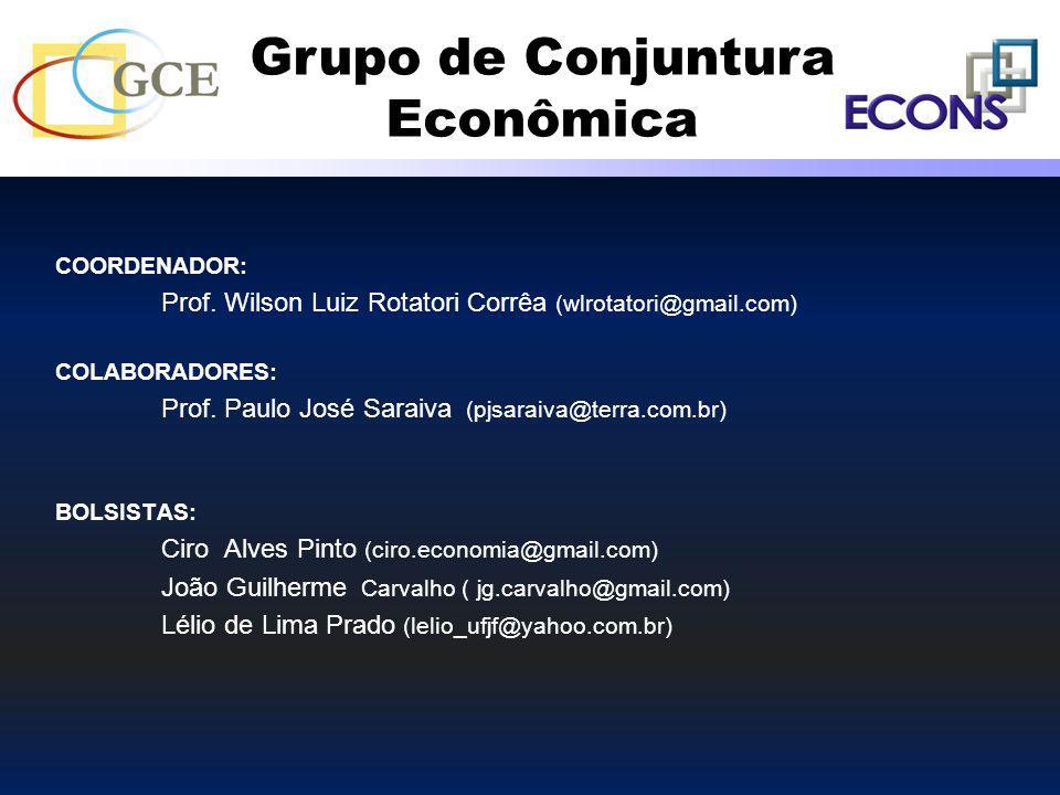 COORDENADOR: Prof. Wilson Luiz Rotatori Corrêa (wlrotatori@gmail.com) COLABORADORES: Prof. Paulo José Saraiva (pjsaraiva@terra.com.br) BOLSISTAS: Ciro