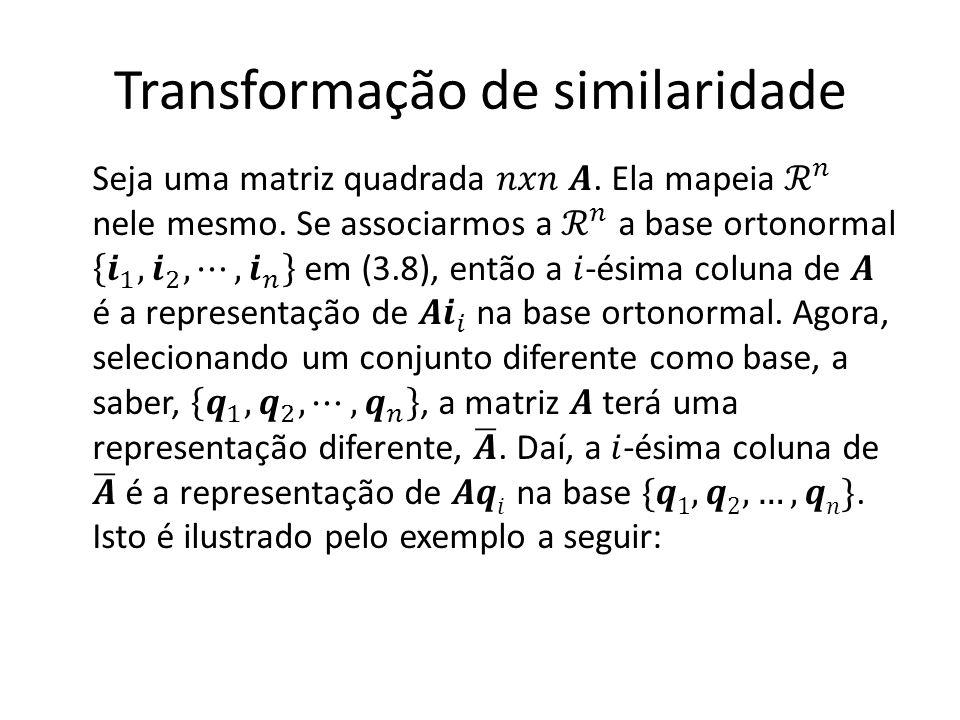 Transformação de similaridade