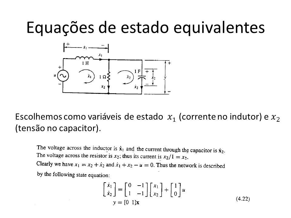 Equações de estado equivalentes