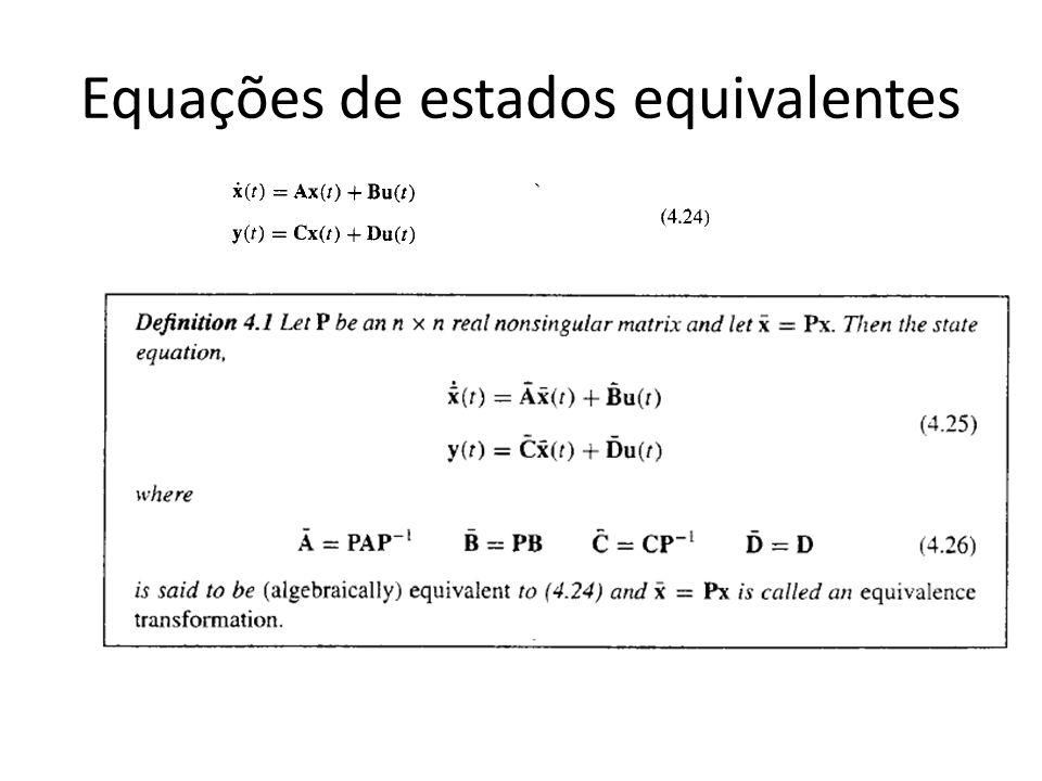 Equações de estados equivalentes