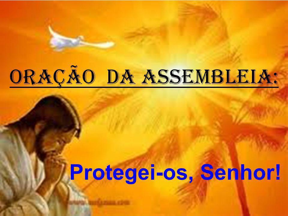ORAÇÃO DA ASSEMBLEIA: Protegei-os, Senhor!