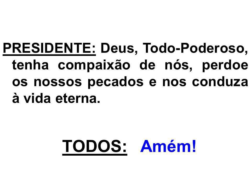 ACLAMAÇÃO AO EVANGELHO: (Mateus, 23,23-26) Aleluia.