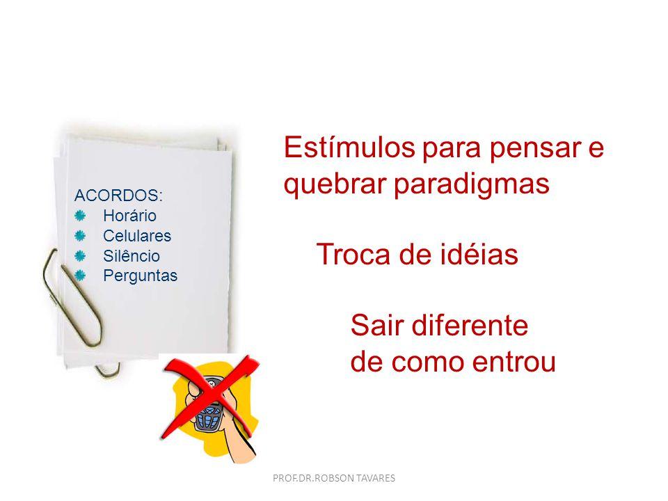 Ferramentas Círculo Concêntrico Princípio VIC 2. Pesquisa PROF.DR.ROBSON TAVARES