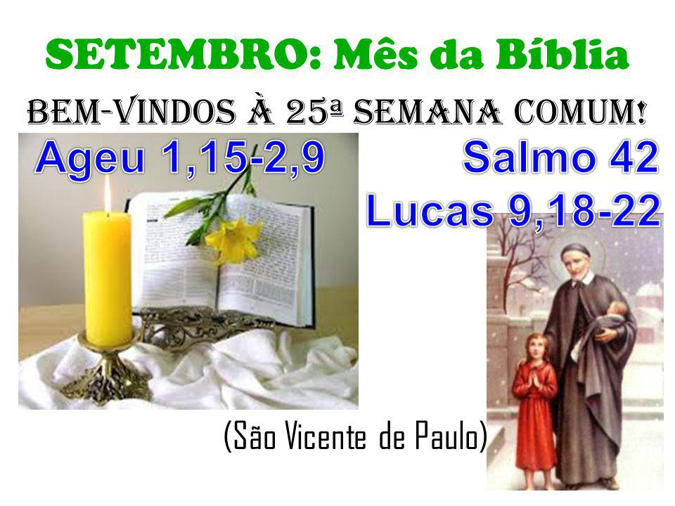ORAÇÃO APÓS A COMUNHÃO: PADRE: Ó Deus, alimentados por esta Eucaristia, nós vos pedimos que, a exemplo de São Vicente e amparados por sua proteção, imitemos o vosso Filho na pregação do Evangelho aos pobres.
