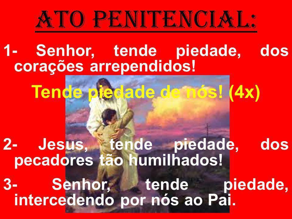 salmo responsorial: (125) 1- Quando o Senhor reconduziu nossos cativos,/ parecíamos sonhar;/ encheu-se de sorriso nossa boca,/ nossos lábios, de canções.