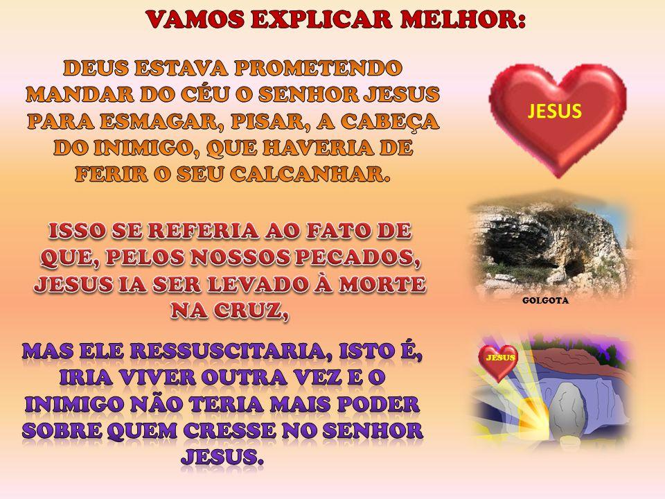 JESUS GOLGOTA