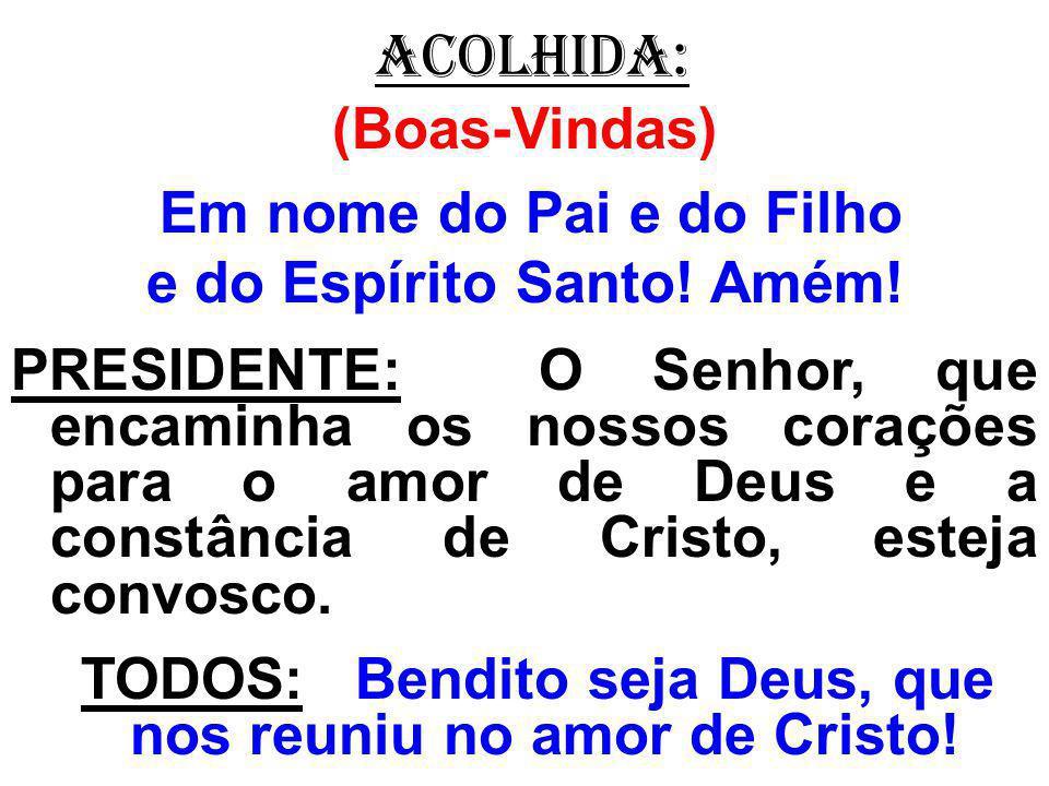 salmo responsorial: (109) Tu és Sacerdote eternamente, segundo a ordem do rei Melquisedeque! (Bis)