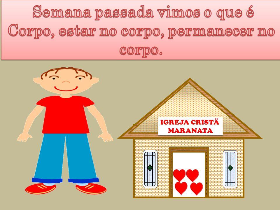 IGREJA CRISTÃ MARANATA IGREJA CRISTÃ MARANATA