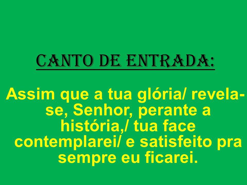 2ª Leitura: (Colossenses 1,15-20) Leitura da Carta de São Paulo aos Colossenses.