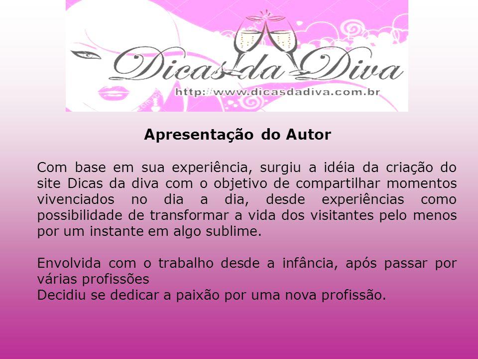 Contato:Vânia Viegas Fone: 01199137-0245 E-mail: vanvsilva@hotmail.com