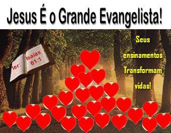 EVANGELIZAR É PREGAR O EVANGELHO.E EVANGELHO QUER DIZER: BOAS NOVAS, DE SALVAÇÃO.