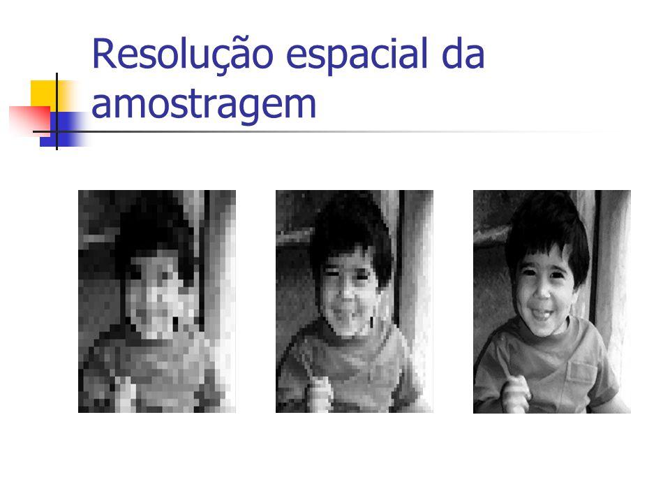 Amostragem em 2D Amostra da imagem