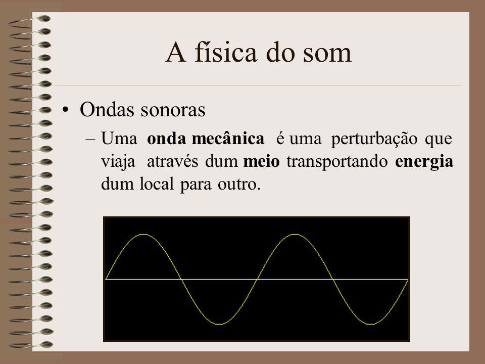 Termos e Conceitos básicos No âmbito do nosso sistema de audição Sensibilidade às frequências –Mais sensíveis de 1-3 KHz Directividade –De onde nos ch