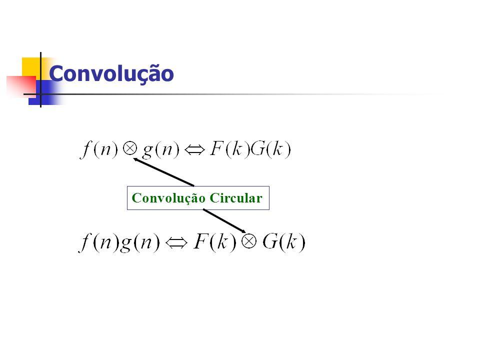 Convolução Convolução Circular