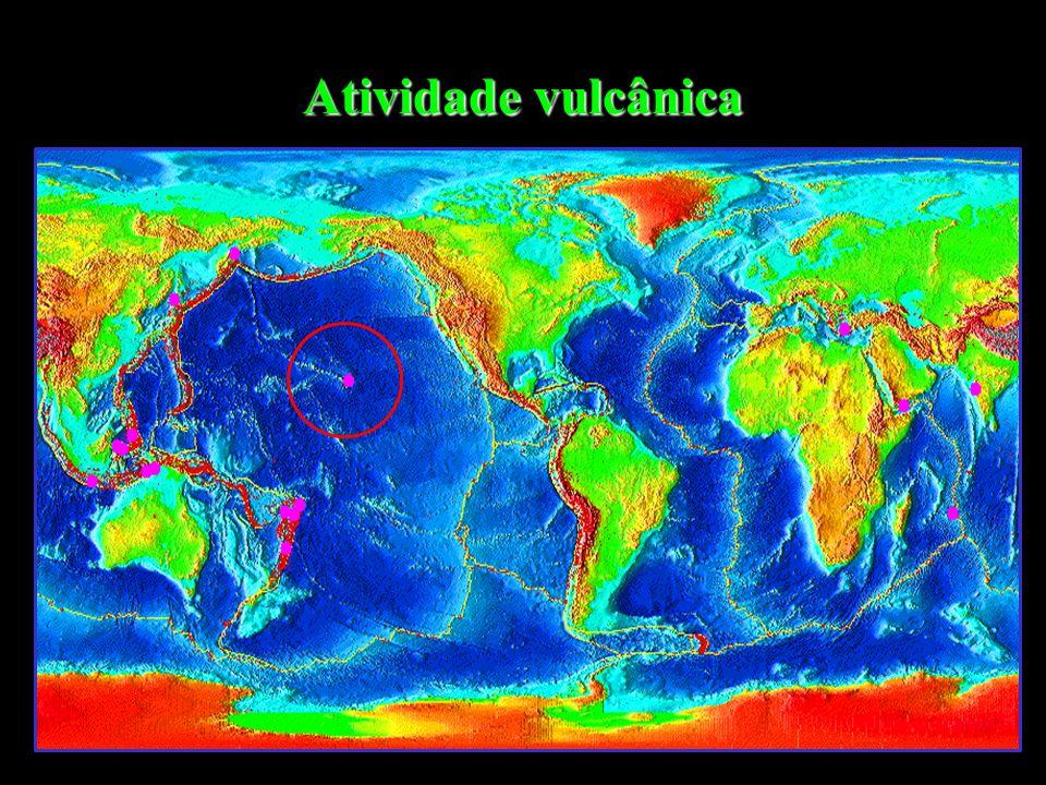Correntes de Convecção Rifte Zona de Fossa ou subducção