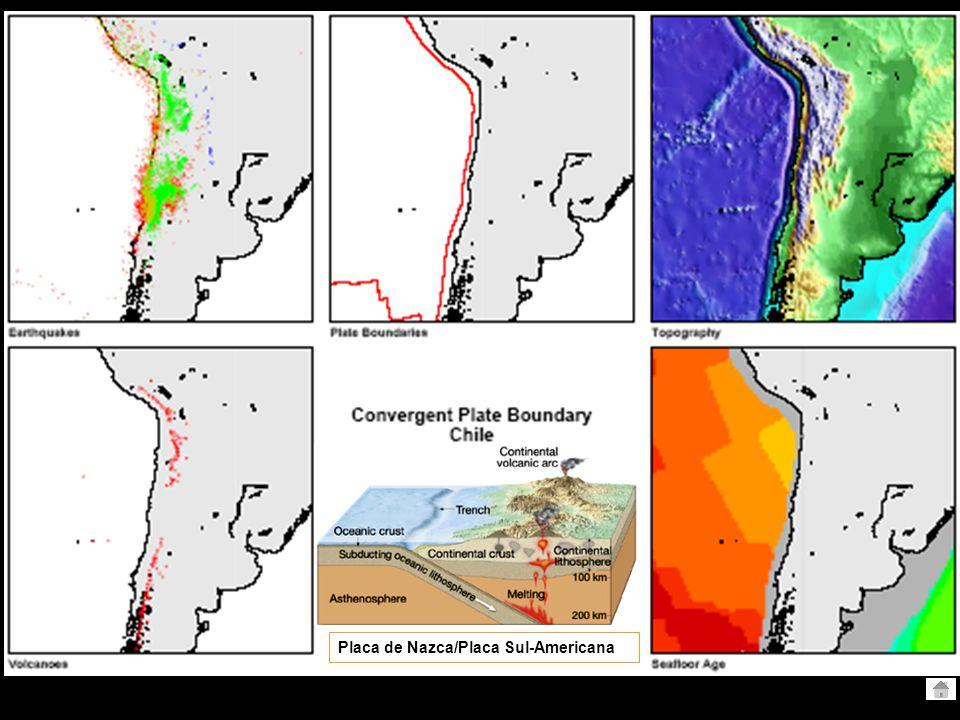 Crosta Continental Crosta Continental Cadeia montanhosa Crosta Continental Arco Vulcânico Crosta Oceânica Crosta Continental Arco Vulcânico Litosfera