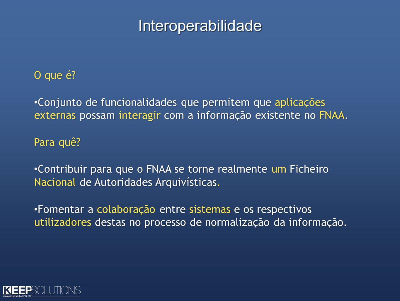 Interoperabilidade O que é.