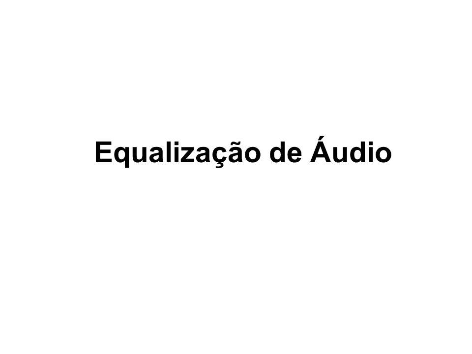 Comparação dos sons Som original Saída de Filtro Passa Baixo Saída de Filtro Passa Banda Saida de Filtro Passa Alto