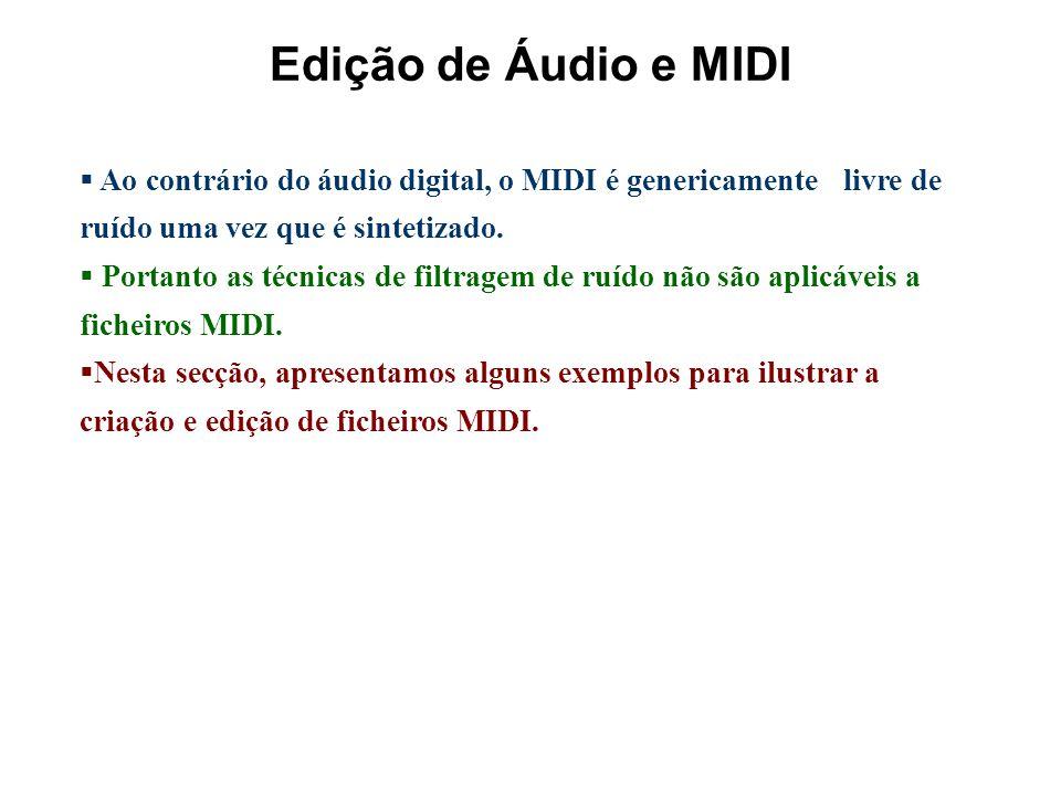 EDIÇÃO DE FICHEIROS MIDI