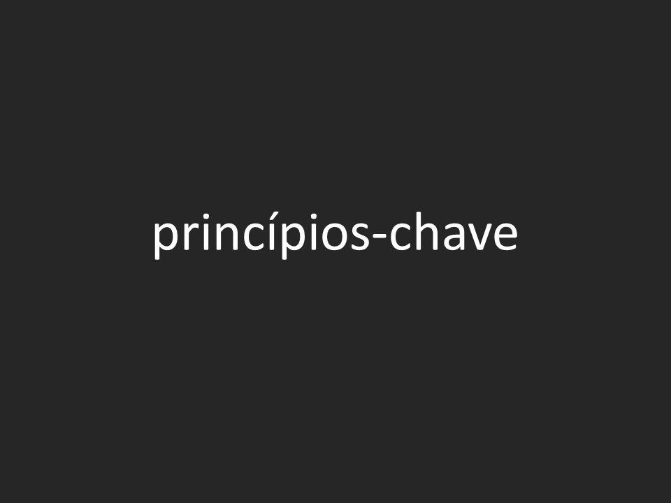 princípios-chave