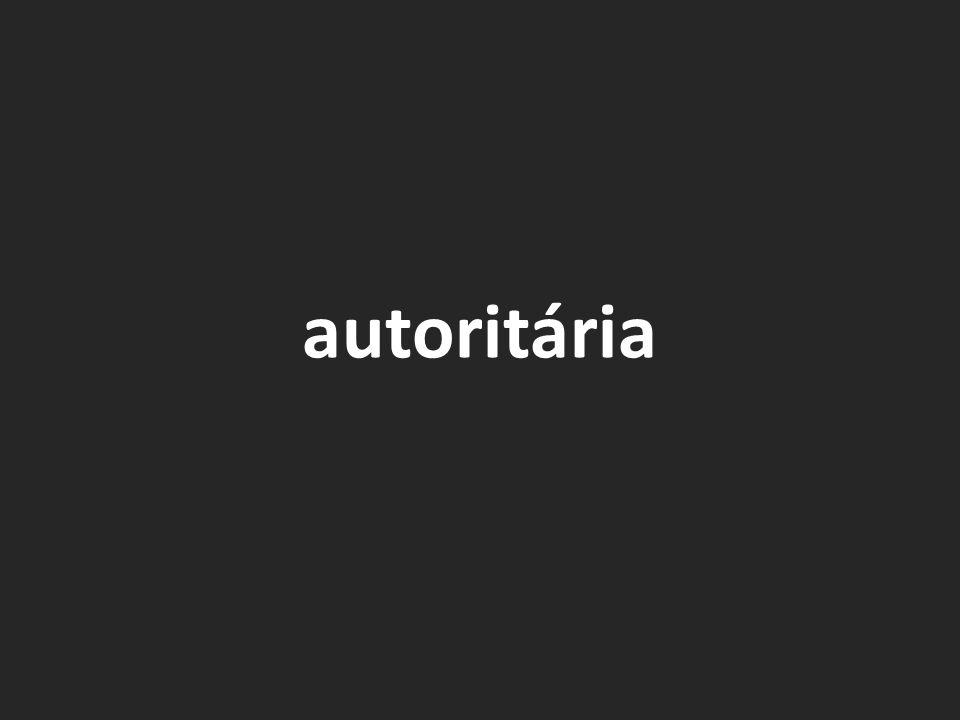 autoritária