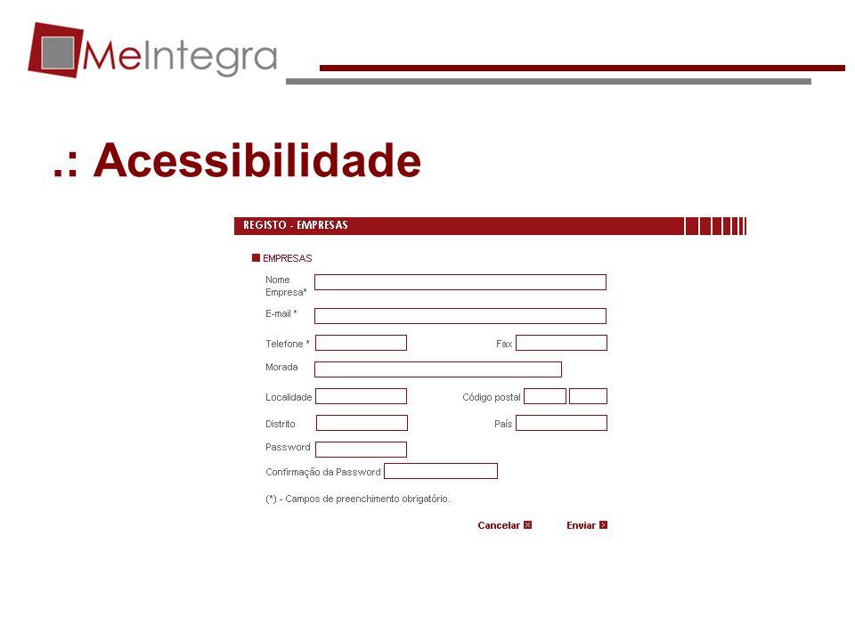 .: Acessibilidade