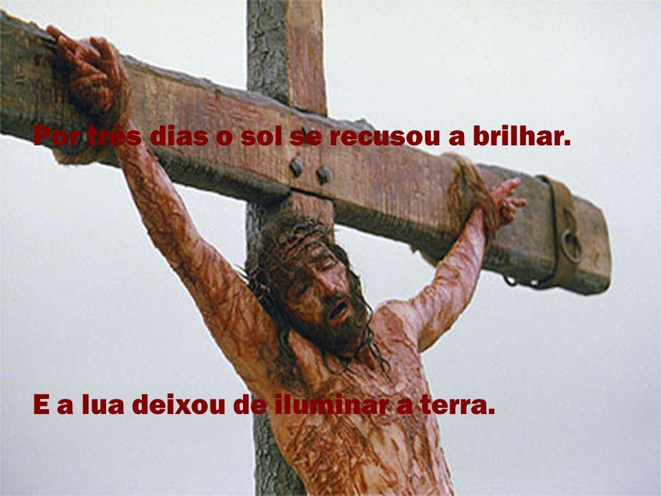 Condenaram este homem e o crucificaram, ignorando todos os seus propósitos de um mundo melhor.