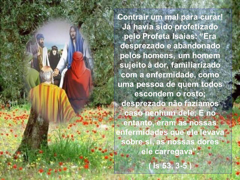 No mesmo instante a lepra desapareceu e ele ficou curado. Então Jesus completa: Vai mostrar-te ao sacerdote! Para poder ser reintegrado na comunidade.