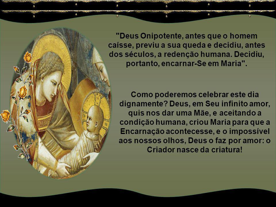 Sem dúvida, para nós como para todos os patriarcas do Antigo Testamento, o nascimento da Mãe, é razão de júbilo, pois Ela apareceu no mundo como a Aur