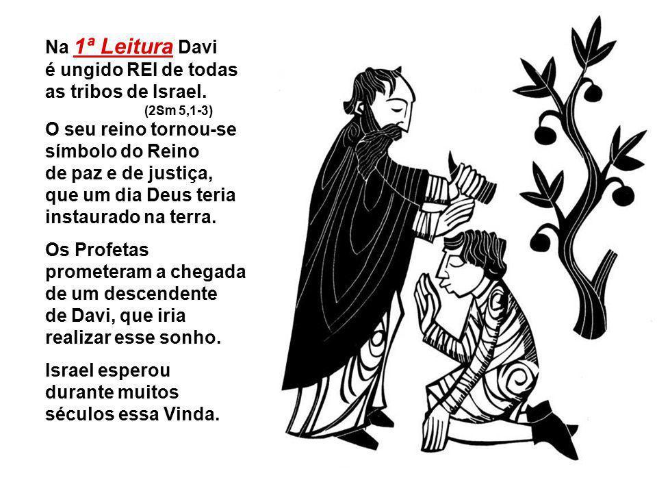 Com a solenidade de Cristo, REI DO UNIVERSO, encerramos hoje o Ano Litúrgico (Ciclo C).