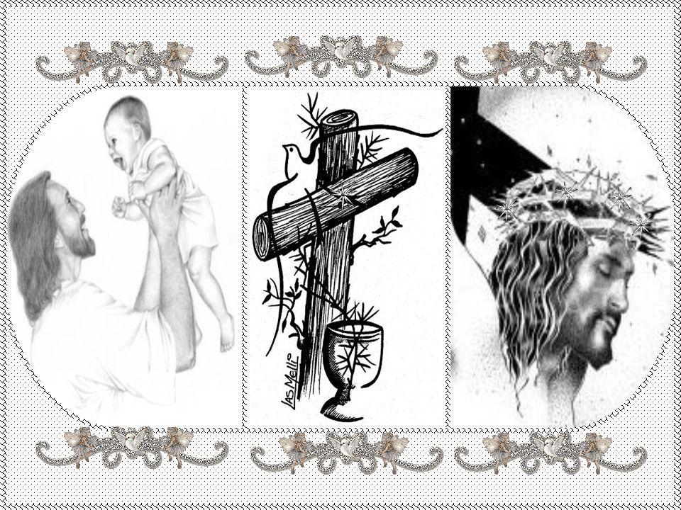 E a minha alma carente, finalmente, encontrou uma luz, nesse Rei tão humilde chamado JESUS!