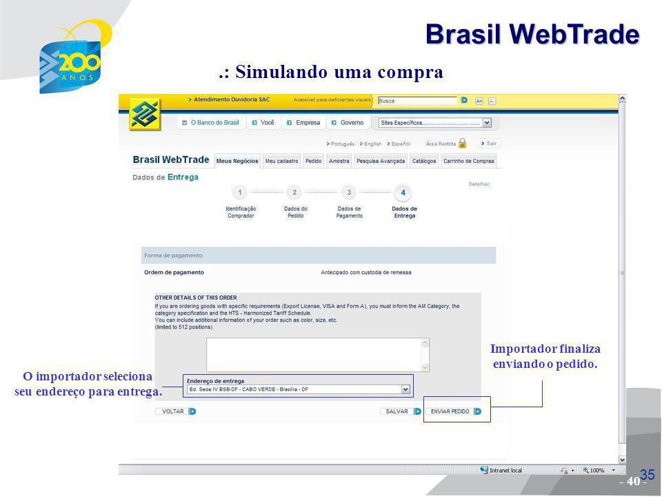 36 - fim - Brasil WebTrade