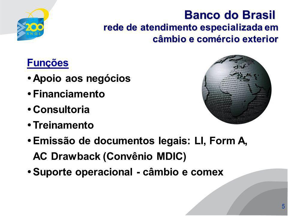 6 6 Consultoria Consultoria técnica e operacional sobre negócios internacionais Apoio à internacionalização Pesquisa de novos mercados e negócios Informativos de Comércio Exterior Estruturação de drawback RDE - ROF / IED