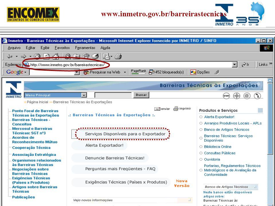 www.inmetro.gov.br/barreirastecnicas