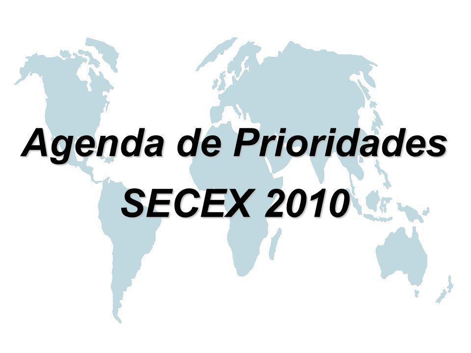 Agenda de Prioridades SECEX 2010