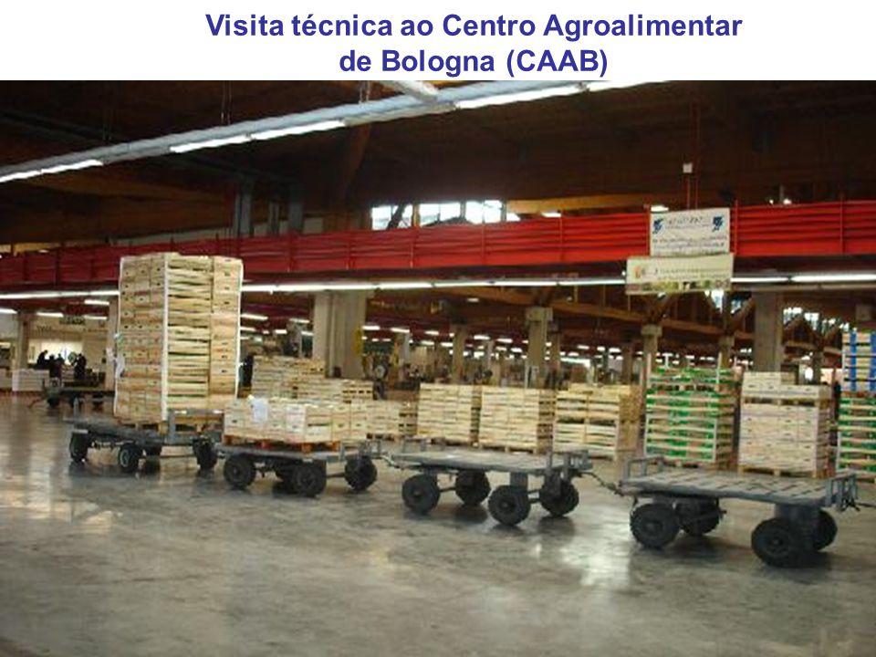 Visita técnica ao Centro Agroalimentar de Bologna (CAAB)